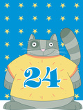 Cat in No 24 Photographic Print by  Artistan