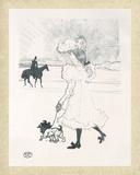 Au bois Pósters por Henri de Toulouse-Lautrec