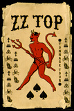 ZZ Top - Tonnage Tour Plakater