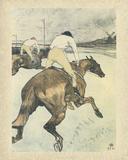 Le jockey Arte por Henri de Toulouse-Lautrec