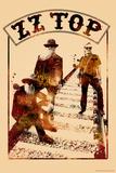 ZZ Top - Train Tracks Posters