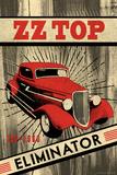 ZZ Top - Eliminator Plakater