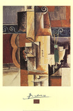 Violin and Guitar Arte por Pablo Picasso