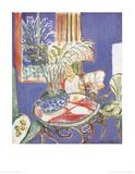 Petit Interieur Bleu (no text) Plakater av Henri Matisse