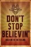 Journey - Don't Stop Believin' Plakat