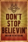 Journey - Don't Stop Believin' Stretched Canvas Print