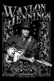Waylon Jennings - Good Timin' Poster