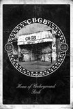CBGB & OMFUG - Exterior Stretched Canvas Print