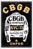 CBGB & OMFUG - Jacket Plakat