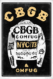 CBGB & OMFUG - Jacket Prints