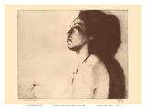 Mokihana, Hawaii - Native Hawaiian Girl - from Etchings and Drawings of Hawaiians Stampe di John Melville Kelly