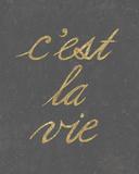 C'est La Vie - Simple Giclee Print by Lottie Fontaine