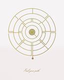 Find Your Path Stampa giclée di Tom Frazier