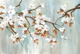 Golden Blooms I Plakater av Asia Jensen
