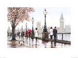 Thames View Poster by Richard Macneil