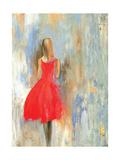 Piccolo vestito rosso Stampe di Aimee Wilson