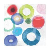 colourful Rings II Prints by Tom Reeves