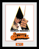 Clockwork Orange - Keyart White Collector Print