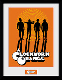 Clockwork Orange - Silhouettes Collector Print