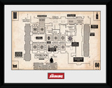 The Shining - Map Collector Print