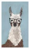 Llama Specs I Posters par Victoria Borges