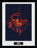 2001 A Space Odyssey - Graphic Samletrykk