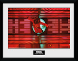 2001 A Space Odyssey - Astronaut Red Collector-tryk