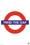 Transport For London - Mind the Gap Pôsters