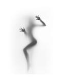Flattened Giclée-Premiumdruck von  Shadow