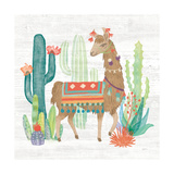 Lovely Llamas III Posters by Mary Urban