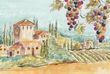 Tuscan Breeze I No Poppies Posters par Daphne Brissonnet