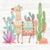 Lovely Llamas IV Prints by Mary Urban