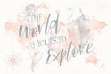 Wonderful World I Prints by Laura Marshall