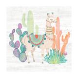 Lovely Llamas II Prints by Mary Urban