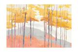 Late Wood Kunstdruck von Avery Tillmon
