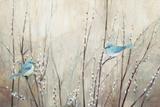 Pretty Birds Neutral Art par Julia Purinton