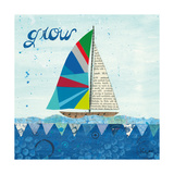 Rainbow Spinnakers III Poster di Courtney Prahl