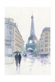 Walking in the Rain Kunst von Avery Tillmon