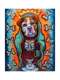 Our Lady of Perpetual Dog Biscuits Pôsters por Connie R. Townsend