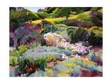 Hillside Garden Planscher av Marcia Burtt