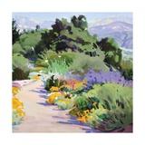 Path through the Poppies Poster av Marcia Burtt