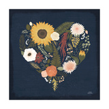 Autumn Romance X Print by Laura Marshall