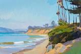 Morning Light, Butterfly Beach Planscher av Marcia Burtt