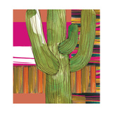 Abstract Cactus Poster von Robbin Rawlings