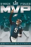 Super Bowl LII - Nick Foles MVP Posters