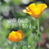 The Best Is Yet to Be Poster von Robbin Rawlings