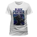Black Panther - White Logo Image T-Shirts