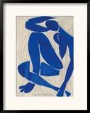 Nu Bleu IV Pôsters por Henri Matisse
