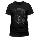 Black Panther - Comic Face T-Shirt