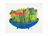 Succulents Giclee Print by Cat Coquillette